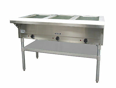 Adcraft ST-120-3, 3 Bay Steam Table