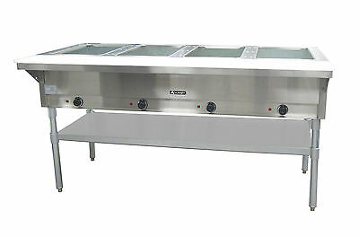 Adcraft ST-240-4, 4 Bay Steam Table