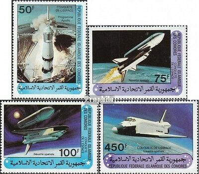 Comoros 625-628 (complete.issue.) unmounted mint / never hinged 1981 Space