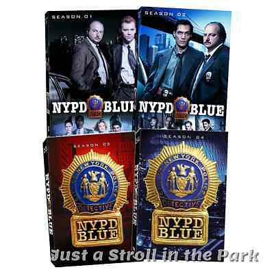 NYPD Blue: TV Series Complete Seasons 1 2 3 4 Box / DVD Set(s) NEW!