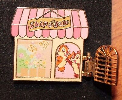 Disney Japan Store JDS Chip Dale In Flower Ship Pin