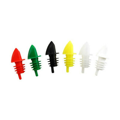 Winware Free Flow Liquor Pourer, pack of 12 Color Green