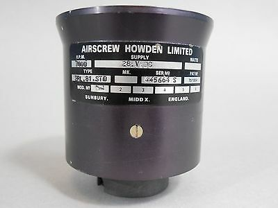 Airscrew Howden Limited 7000 RPM Fan 28 Volt NEW