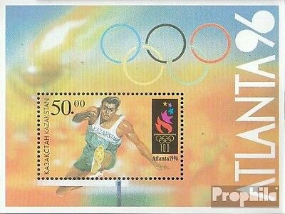 kazakhstan block5 (complete.issue.) unmounted mint / never hinged 1996 Olympics