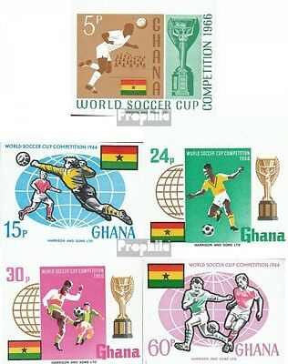 Ghana 269B I-273B I (complete.issue.) unmounted mint / never hinged 1966 Footbal