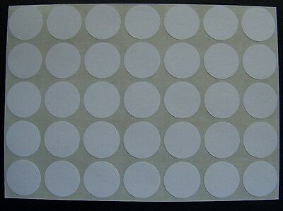 250 All Purpose Removable Adhesive Price Labels Tags Stickers Round 3/4""