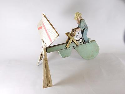 Early 20Th Century Whirligig - Wood Cutter