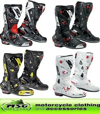 Sidi Vortice Motorcycle Motorbike Track Race Sports Boots