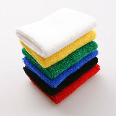 6 pack outdoor sports Cotton+fiber Sweatbands Wristbands Gymnastics Multicolor