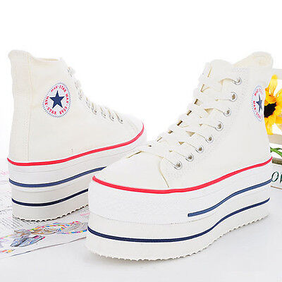 59258dec86f8 New Women MAXSTAR Original CN9 Snsakers Heel High Top Lace Up Zip 7Holes  Shoes