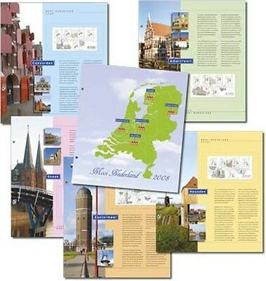 DAVO 10368 Luxe supplement Mooi Nederland sheetlets illustrated '08