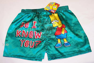 The Simpsons Bart Boys Boxer Shorts 2 Pack Size 6 - 8 New