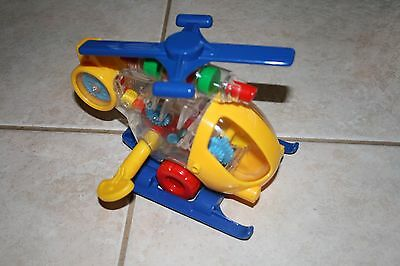 Wind up helicopter