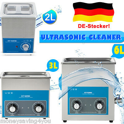 2L / 3L / 6L Ultraschallreinigungsgerät Ultrasonic Ultraschall Cleaner Reiniger