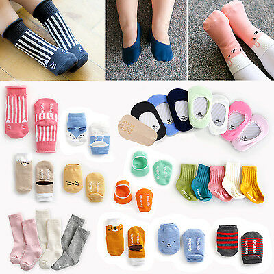 "Vaenait Baby KOREA Toddler Kids Girls Boys Anti Slip Boots Set ""Socks set"" 0M-8T"