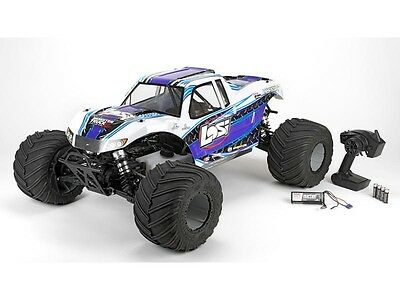 Losi Monster Truck XL RTR, AVC: 1/5 4WD (White) #LOS05009T2