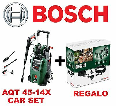Hidrolimpiadora Bosch Aqt 45-14X Car Set + Kit Emergencia De Regalo 06008A7401