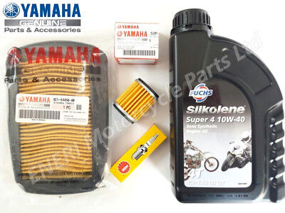 Yamaha Wr125 Wr125X Wr125R Genuine Service Kit Oil Spark Plug Air Filter  *new*