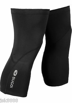 Cycling  Thermal Knee Warmers Black Color Sugoi Unisex New With Tags