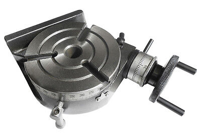 """Rotary Table Horizontal & Vertical 4""""/100mm MT-2"""
