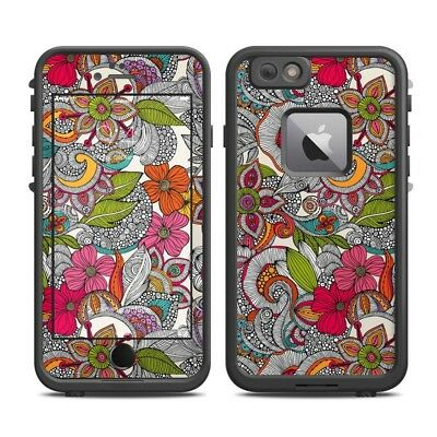 Skin for LifeProof FRE iPhone 6 Plus - Doodles Color - Sticker Decal