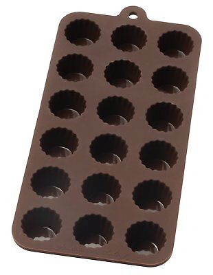Harold 43766 Mrs Anderson's Silicone Nonstick Baking Chocolate Mold Cordial Cups
