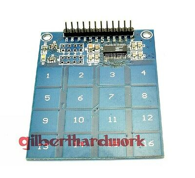 TTP229 16 way touch module capacitive touch switch digital touch sensor module
