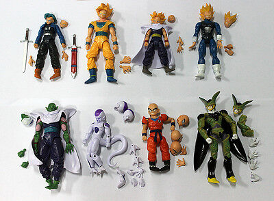 Dragonball Figures 8 Pcs Dragon ball DBZ Action Figures Toys Gift Set collection