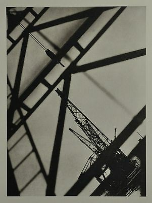 Germaine Krull Limited Edition Collotype Photo Amsterdam Harbor Hafen Port 1924