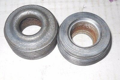 """(10 PC) Steel Reducing Bushing 1- 1/2 X 3/4"""" Assorted Styles"""