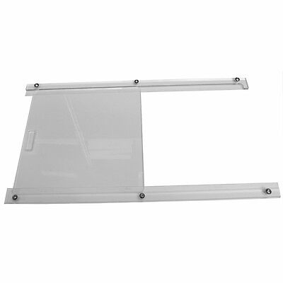 Universal Competition Polycarbonate Perspex Plastic Door Window Slider Kit Pair