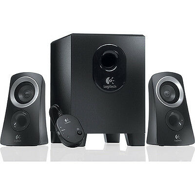 logitech z 2200 thx 2 1 lautsprecher system eur 61 00. Black Bedroom Furniture Sets. Home Design Ideas