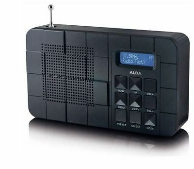 Alba DAB/FM Radio - Black. HR345.