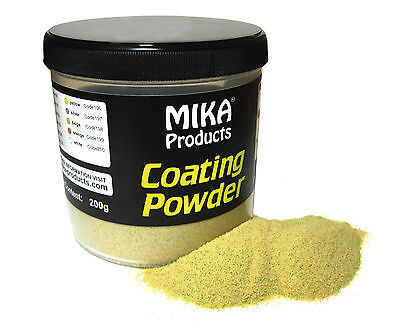MIKA Coating Powder 200g - Beschichtungspulver, Pulverfarbe, Bleie, Bleigussform
