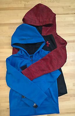 Boys Under Armour Zip Up Hoodie