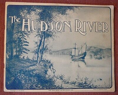 The Hudson River - picture book - 1905