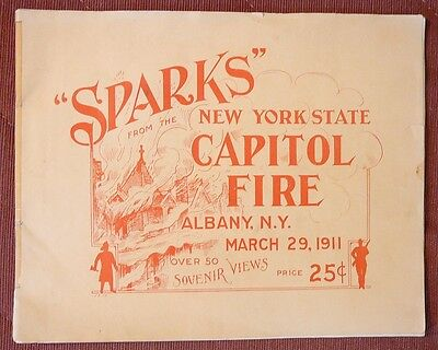 Sparks - picture book from NY Capitol fire - 1911