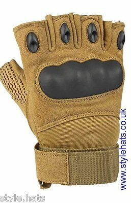Finger-less Gloves Hunting Tactical Military Sniper Outdoor Sports Cycling & Gym