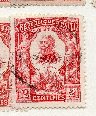 Haiti 1904 Early Issue Fine Used 2c. 073441