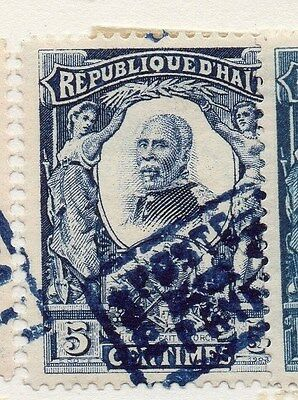 Haiti 1904 Early Issue Fine Used 5c. 073455