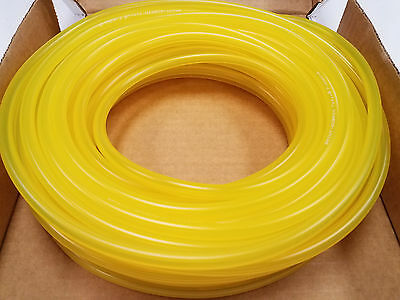 "TYGON FUEL LINE 1/8"" ID x 1/4"" OD CLEAR YELLOW (ORDER BY THE FOOT)"