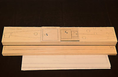 Laser Cut Short Kit & Plans UGLY STICK Trainer Plane 64.5 in. wing span