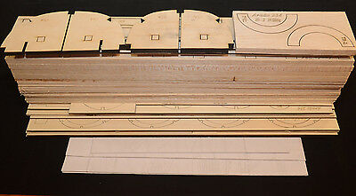 "1/6 Scale ARADO AR-234 B1 Laser Cut Short Kit & Plans 92"" Ws ELECTRIC DUCTED FAN"