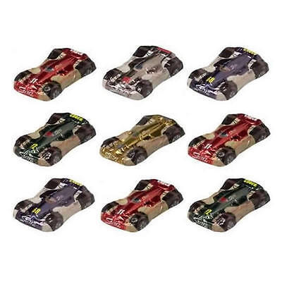10 Milk Chocolate Racing Cars - ''race Car'' Kids Birthday Parties Promotions