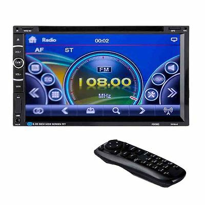 7Inch Bluetooth 2DIN Stereo Car CD DVD Player GPS Navi FM Touch Radio Headunit