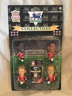 FREE POST new sealed card LIVERPOOL 4 PACK CORINTHIAN FOOTBALL figures LV4A