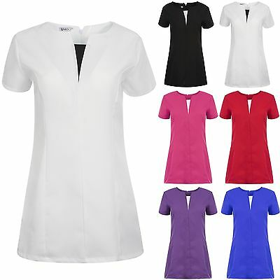 SPA Beauty & Hair Salon/Hairdressing Beautician  Nail Massage Therapist Tunic PV