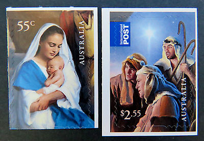 Australian Decimal Stamps: 2013 Christmas-Nativity Scene-Single Set 2-P & S MNH