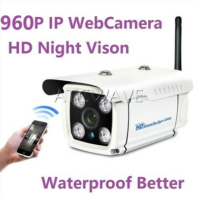 1MP Security 720P Outdoor HD IR Night Vision IP WIFI Wireless Home CCTV Camera