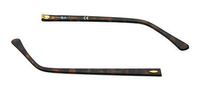 3c7fecfb55 Aste Ricambio Ray Ban 2156 Clubmaster Dark Havana Gold Replacement Side Arms